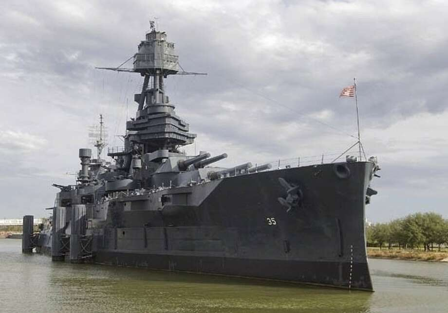 A leak is prompting the closure of the Texas Battleship starting the week of June 25-29. Texas Parks and Wildlife Department officials say the repairs should only take a week or so. / © 2010 CHASE A. FOUNTAIN, TPWD