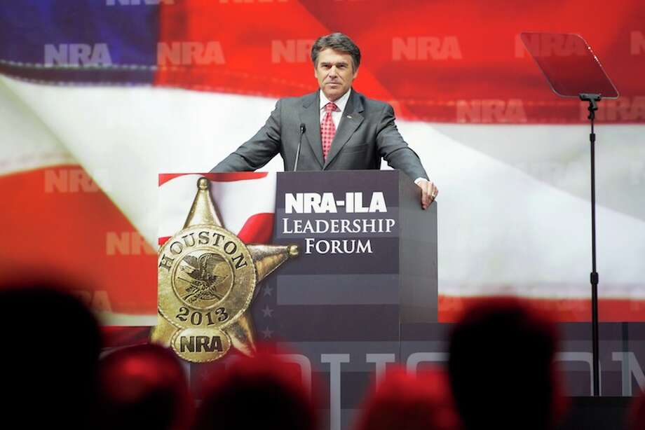 Gov. Rick Perry: Texas and the NRA are a perfect fit, because in Texas, we believe in freedom, personal responsibility and the God-given right and peace of mind to defend yourself and your family. In Texas, we never lose faith in the Founding Father's wisdom to include the Second Amendment to the Constitution among the Bill of Rights.