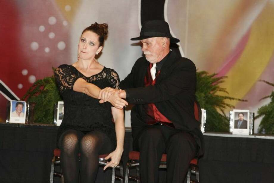Kingwood Medical Center's Jim Wall danced a broadway number with partner Danielle Smith at the fifth annual Lake Houston Family YMCA Dancing for Partners April 25.
