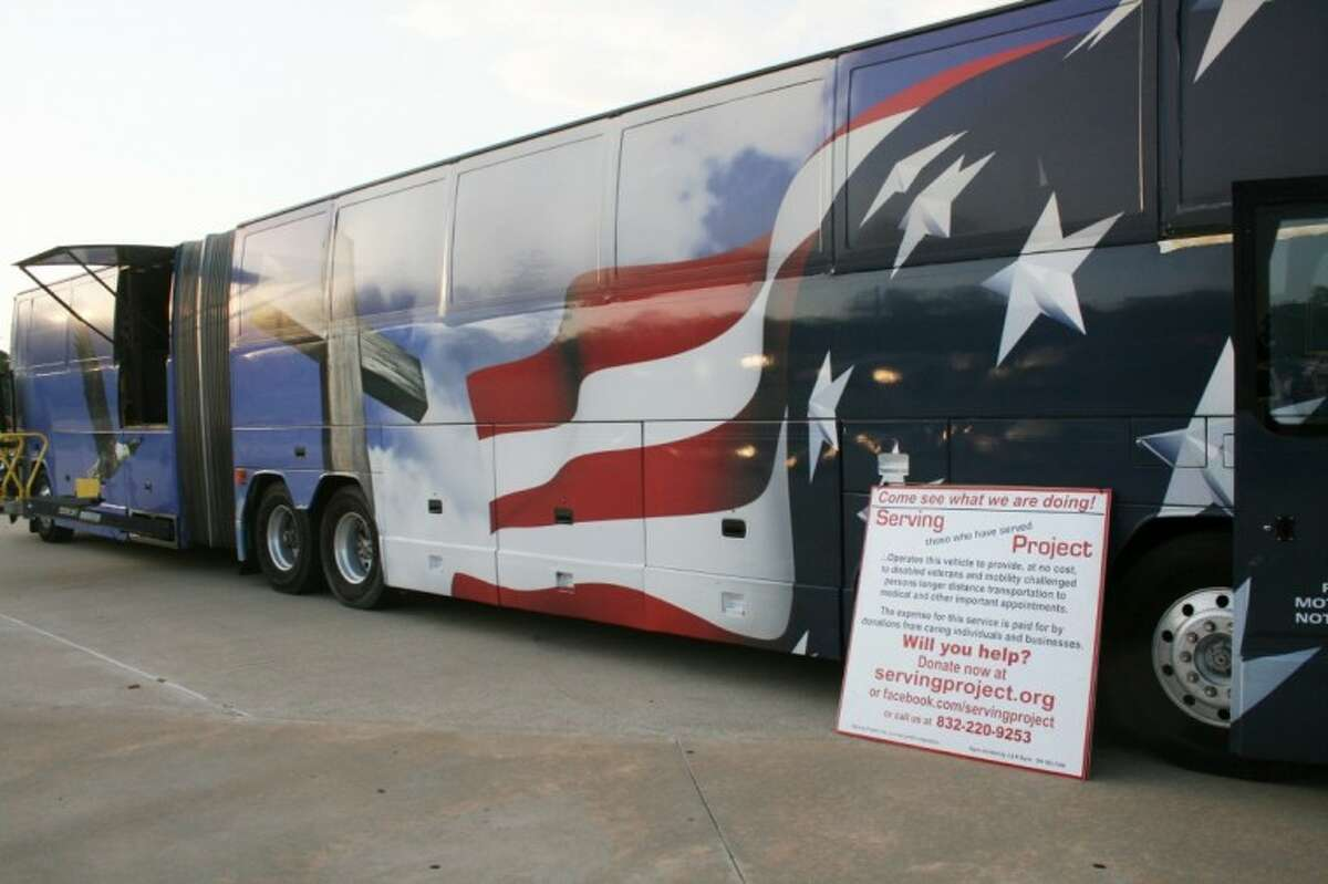 A Cleveland man has created a non-profit organization, ServingProject.org, and outfitted a bus to transport disabled veterans to and from hospitals and on tours across the country.