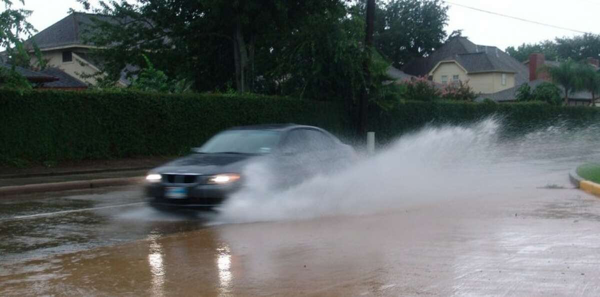 Consecutive days of heavy rain causes some