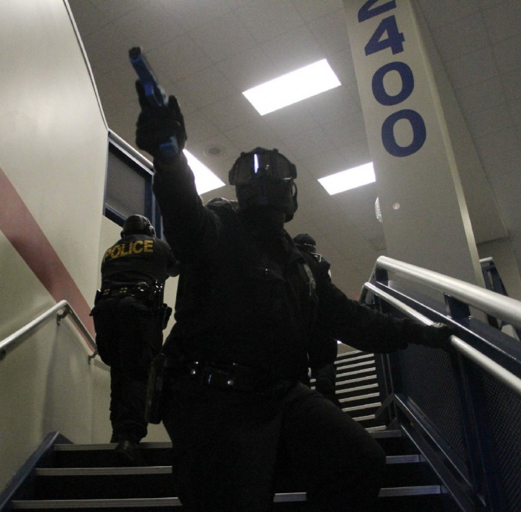 Humble Police Host Active Shooter Exercise At Atascocita