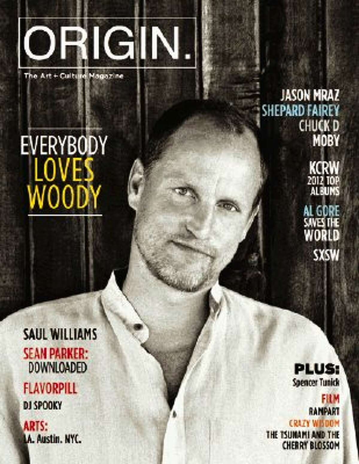 Woody Harrelson is just one of the many celebrity interview subjects who have adorned the cover of ORIGIN Magazine. Founded by Atascocita native Maranda Pleasant, ORIGIN is an art/yoga publication whose distribution has expanded to a national level.