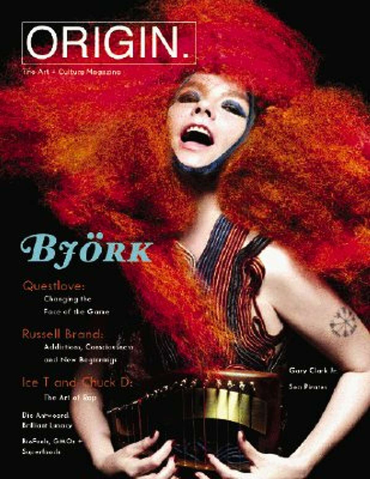 Counterculture favorite musician and performance artist Björk is just one of ORIGIN Magazine's many recent interview subjects. ORIGIN, an art and yoga publication distributed nationally, was founded by Atascocita native Maranda Pleasant.