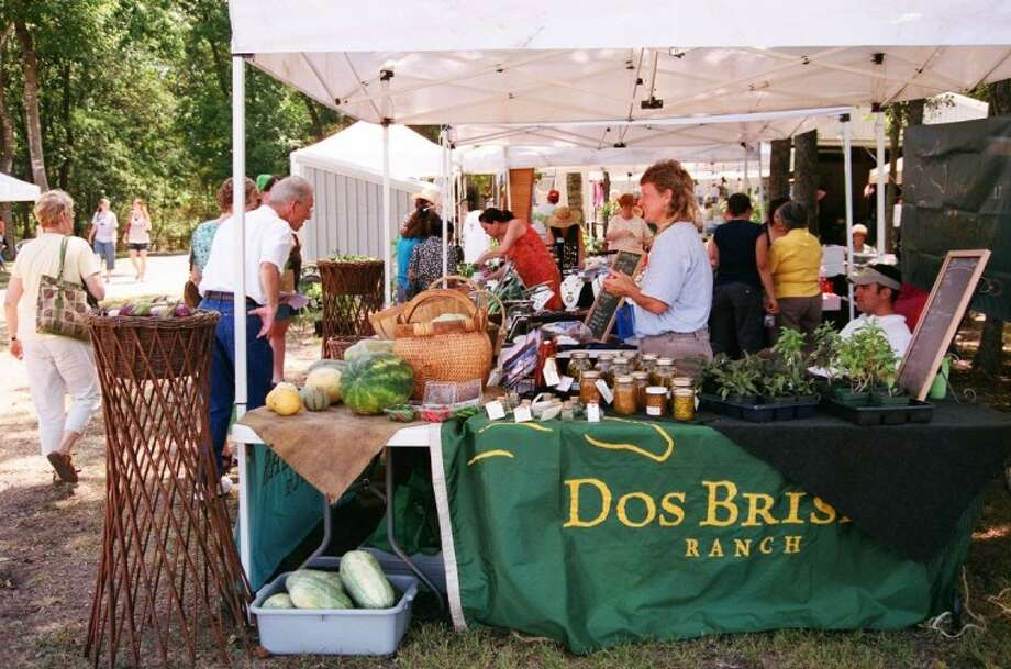 The Dos Brisas Ranch near Brenham had a booth at the 2010 Lavender and Wine Festival.