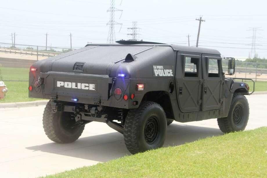 La porte police acquires hmmmv utility vehicle houston for Laporte tx police dept