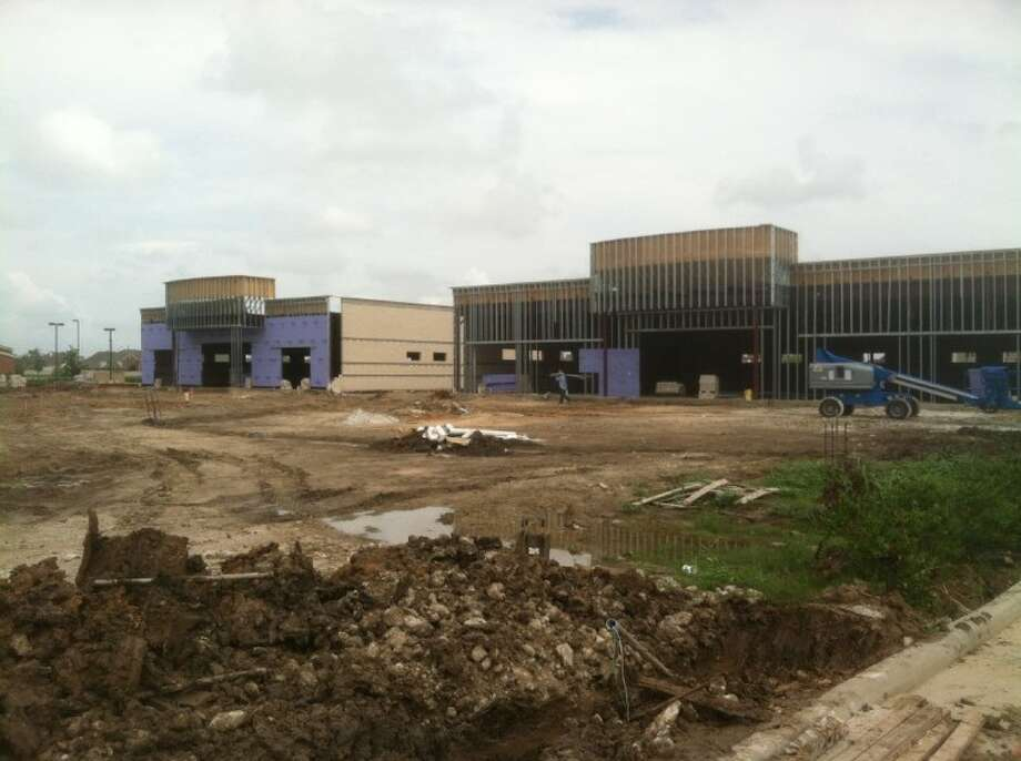 A pair of clinics are under construction on FM 518.
