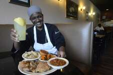 Chef Bettina J. Evans aims to please customers' spirits as well as their palates at Bettie Jeans Homestyle Cooking, which opened early September. Chef Evans uses all fresh ingredients to prepare the soul food recipes which she learned from her mother, Bettie Jean. The establishment also features a bakery, where older brother John F. Williams, Sr., bakes fresh desserts, and an organic coffee bar. Chef Evans says they are building a buffet line, which should be open by the end of the month. Diners can eat in or take their orders to go. Bettie Jean's is open for breakfast and lunch from 7 a.m. to 3 p.m. Photo taken Tuesday, September 20, 2016 Kim Brent/The Enterprise