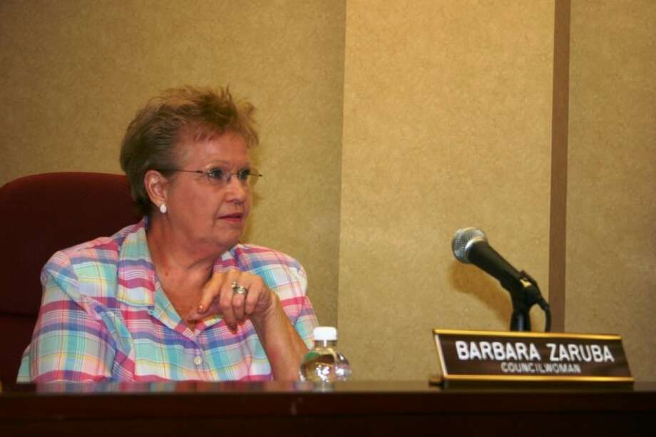 Dayton City Councilwoman Barbara Zaruba is not alone in believing voters should decide in a November referendum whether the city should institute red-light cameras. Photo: STEPHEN THOMAS