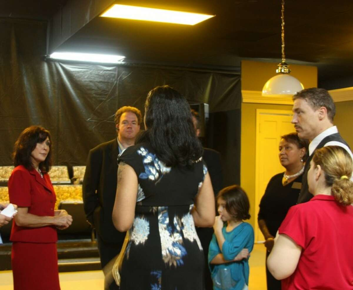 The Pearland Chamber of Commerce hosted a Ribbon Cutting Ceremony for the Pearl Theater Thursday (July 12). Guest were invited to tour the facility.