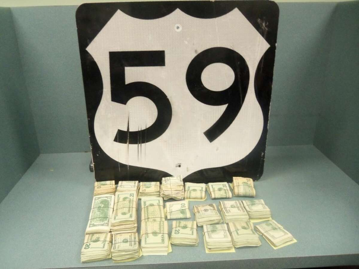 An Arkansas man was arrested Wednesday night on US 59 following a traffic stop by Cleveland Police Officer Paul Young.