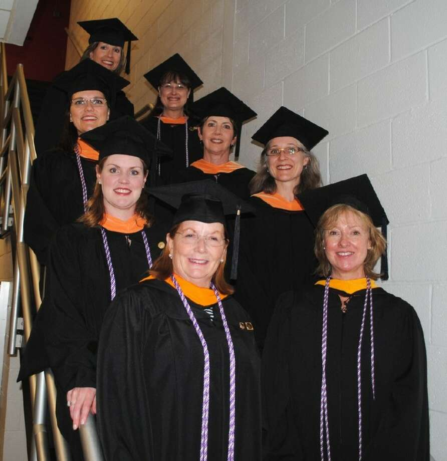 Acc instructors earn nurse educator certification houston chronicle pictured are the acc nursing instructors who recently earned a certifed nursing educators designation through promise xflitez Images