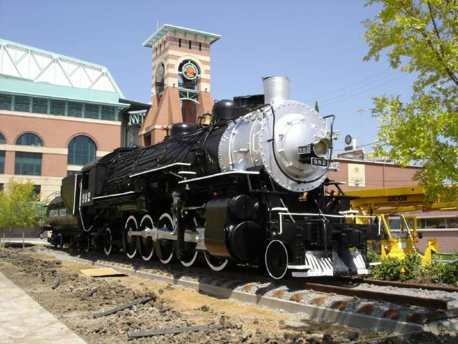 The Southern Pacific 982 Steam Engine gifted to the Nau Center for Texas Cultural HeritageThe historic steam engine is one of only two of its kind remaining.
