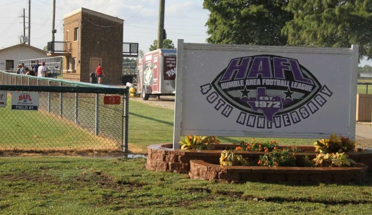 The Humble Area Football League celebrates its 40th anniversary of teaching young children the love of football this year. HAFL president Gene Pena calls the loss caused by a recent burglary to the organization's storage building
