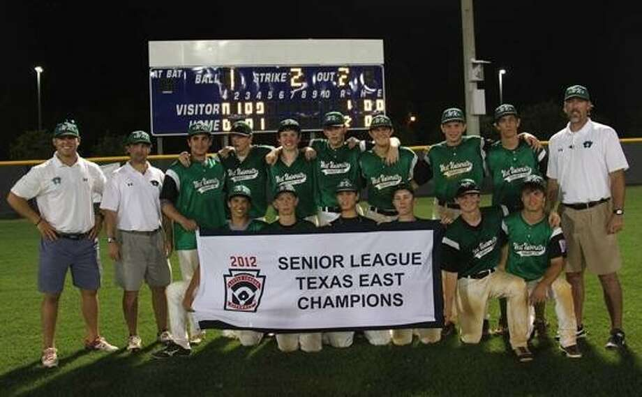 The West University Senior Little League has won both the Texas East state  championship in Tyler ec5451267