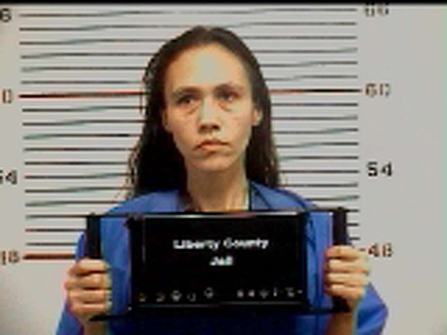 Mabel Larsen. Charged with cruelty to livestock animals.