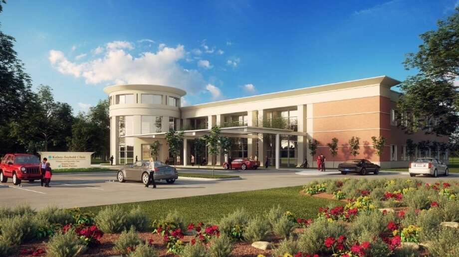 Rendering of the new Pasadena clinic to be located at 5049 East Sam Houston Parkway, Pasadena, 77505, near Beltway 8 and Crenshaw. Photo: Courtesy Kelsey-Seybold