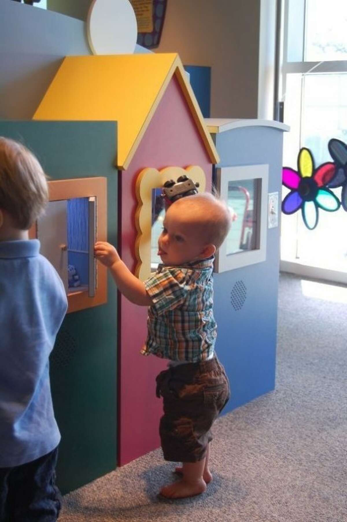 The Children's Museum of Housont features a week of problem-solving activities and idea-discovering at the exclusive Tot Spot exhibit (for children 35 months and under) Aug. 23 -29.