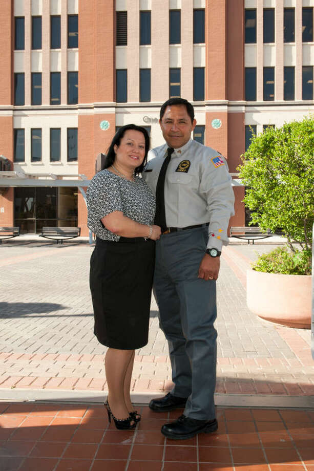 This Saturday, Angela, 38, and Johnney Lopez, 53, will celebrate their hard-earned diplomas at UHD's 54th commencement ceremony at Minute Maid Park.  They realized their educational dreams a combined 53 years after high school and were instrumental in encouraging each other to return to school and graduate as adult students.