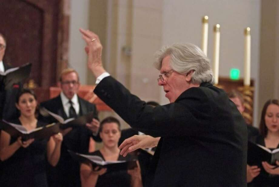 Robert Simpson, founder and artistic director of the Houston Chamber Choir.