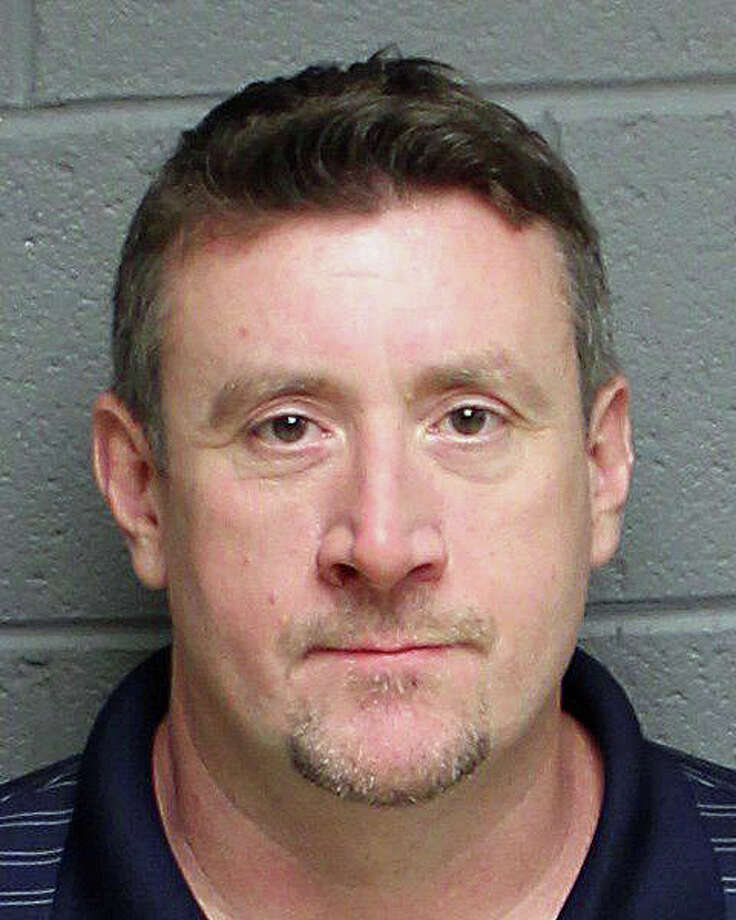 Mark Federico, 48, of Moss Avenue in Seymour, was arrested on Wednesday, Sept. 28, and charged with third-degree larceny. Federico allegedly stole near;y $4,000 in equuipment while working for Anodic Inc., of Monroe. The investigating officer located the reported stolen items at a local pawn shop where it was learned that the suspect, Federico, had pawned other items that were also stolen Turnpike. Photo: Monroe Police Department Photo