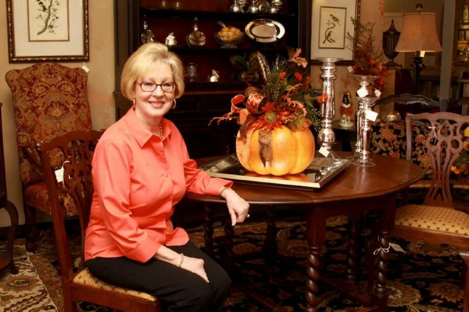 Rebecca Weischwill, owner of the French Courtyard Consignment House, said her store is a perfect mix of new items and antiques.