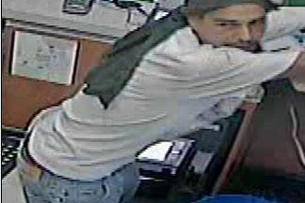 San Antonio Crime Stoppers is looking for this man who broke into a Valero gas station to steal cigarettes in early September 2016.