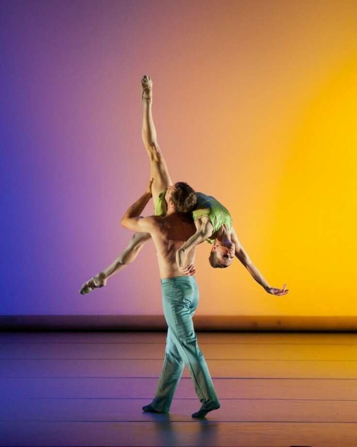 """""""Over Glow"""" performed by members of the Aspen Santa Fe Ballet."""