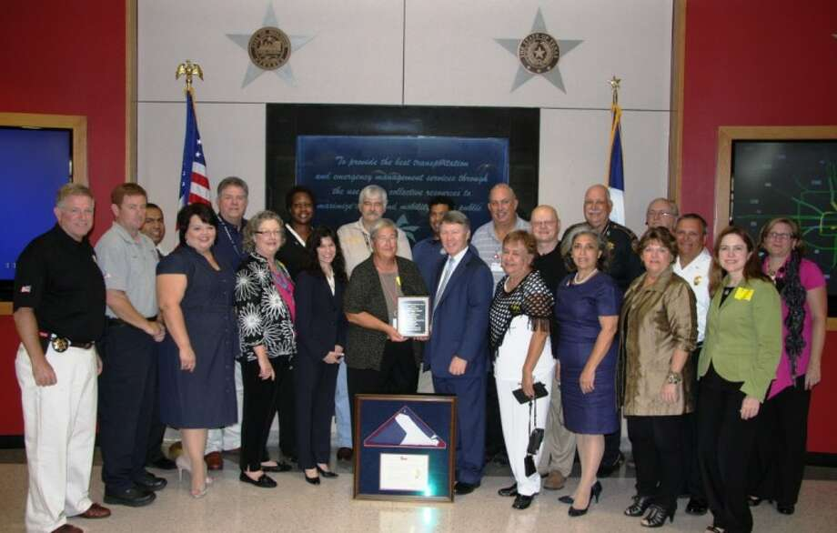 Harris County Citizen Corps council recently received the 2012 Jack Colley Award.