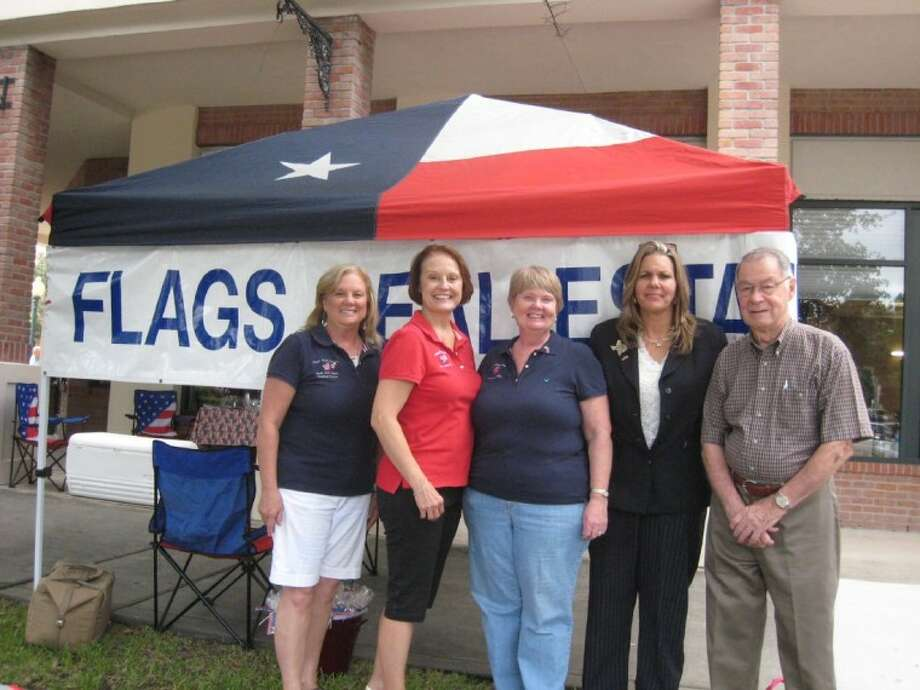 Flags Real Estate celebrated the opening of their new location in Kingwood's Town Center Park with a school drive for teachers where they will be the drop-off point until Sept. 13.