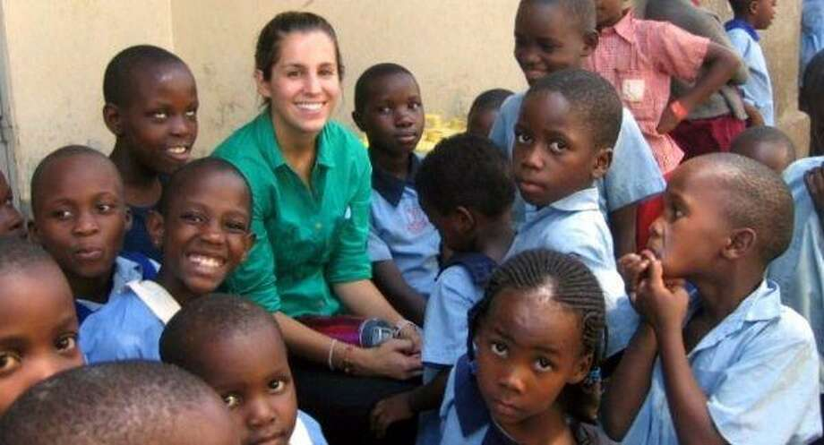 Sendukas said she fell in love with the children she worked with in Uganda.