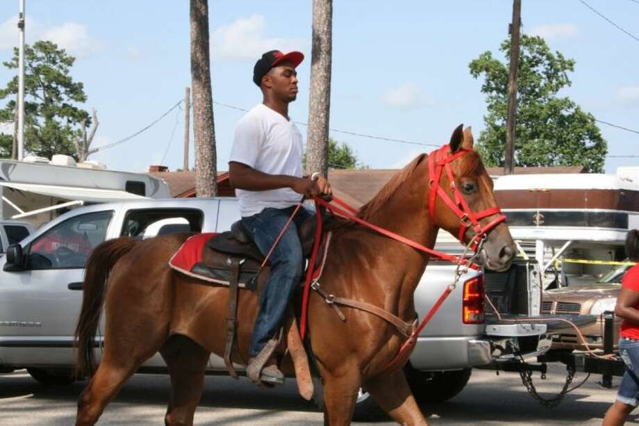 The King City Riders hosted a trail ride on Saturday, June 22, which began at Stancil Park. Photo: STEPHANIE BUCKNER