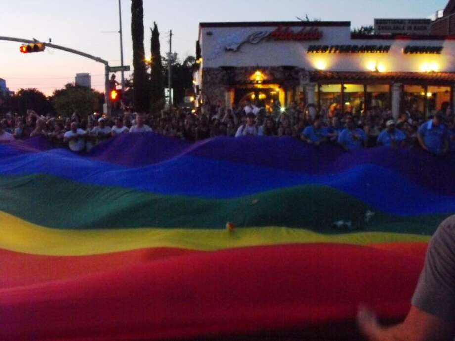 The 16th annual Pride Festival and Parade travels down Westheimer on Saturday.