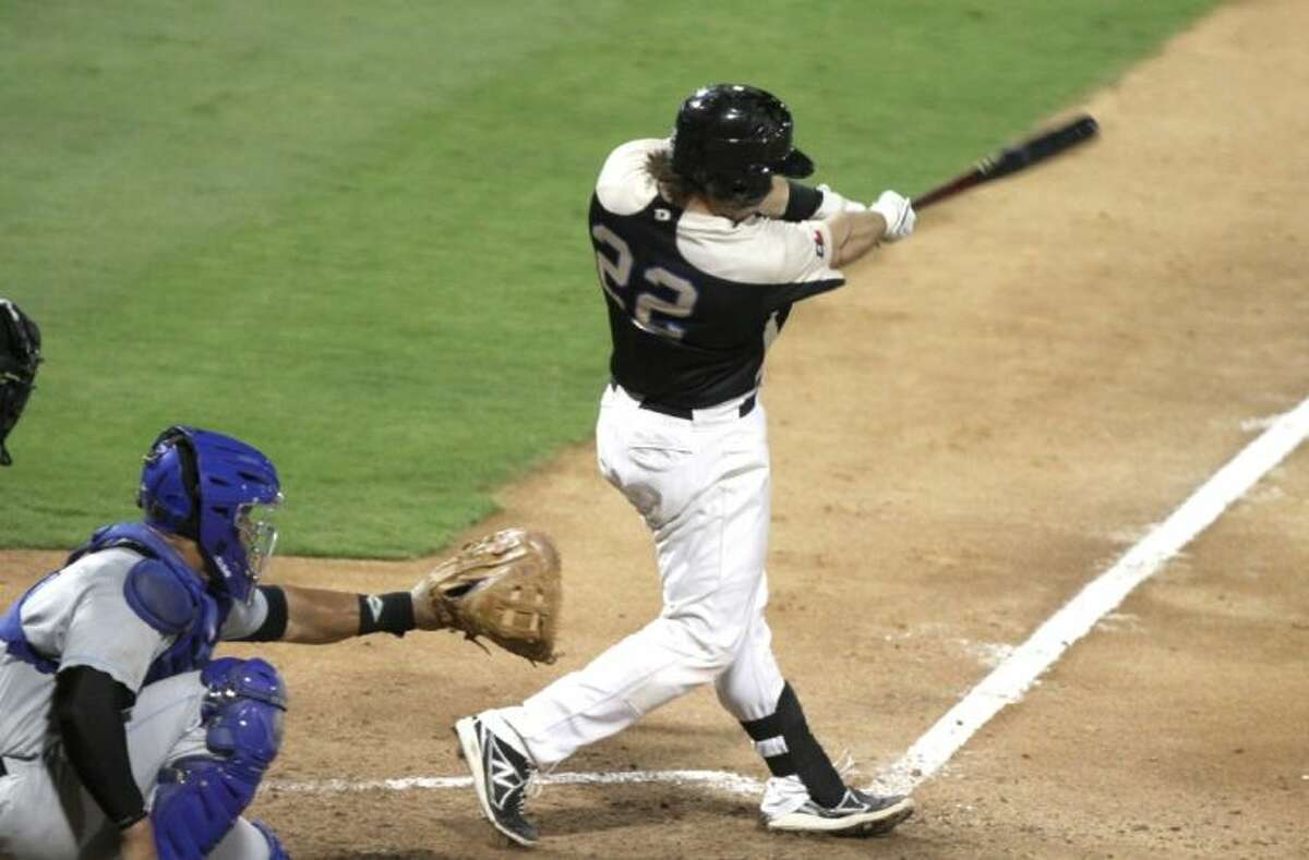 Koby Clemens hit his 17th home run of the season Aug. 2 to propel the Sugar Land Skeeters to a three-game sweep of Bridgeport and set a franchise single-season record for home runs.