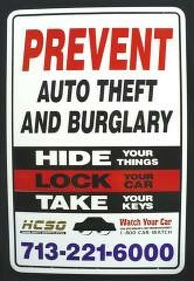 HCSO kicks off Watch Your Car Month by sharing safety tips