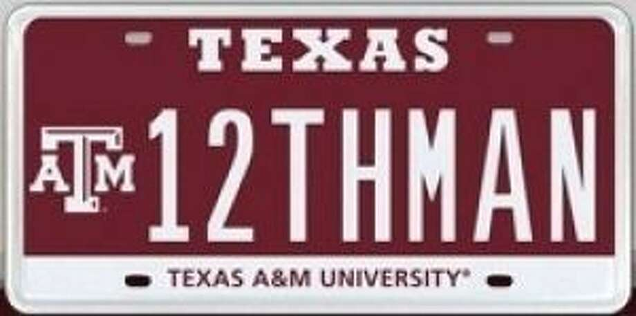 Now for the first time, Texas A&M University and MyPlates.com will auction the right to display the one and only 12THMAN license plate.