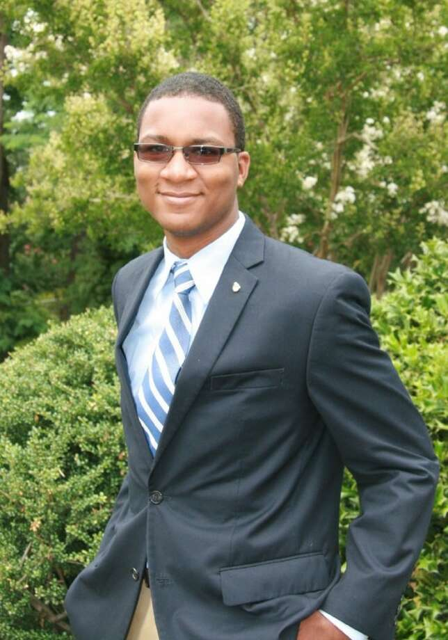 Quanzel Caston, soon to be a senior at Carl Wunsche Senior High School in Spring, spent a week in the nation's capital in July at the Constitutional Academy. Photo: Submitted Photo