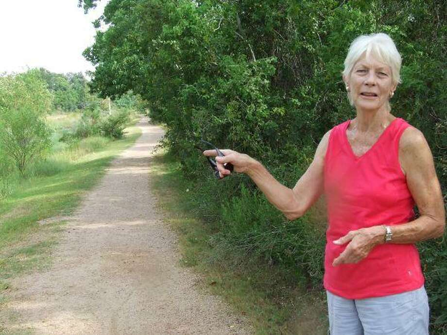 Dori Nelson, chair of Seabrook's Open Space, Beautification and Preservation Committee, hopes Seabrook will be able to add 25 miles to the 10 miles of hike-and-bike trails currently in the city.