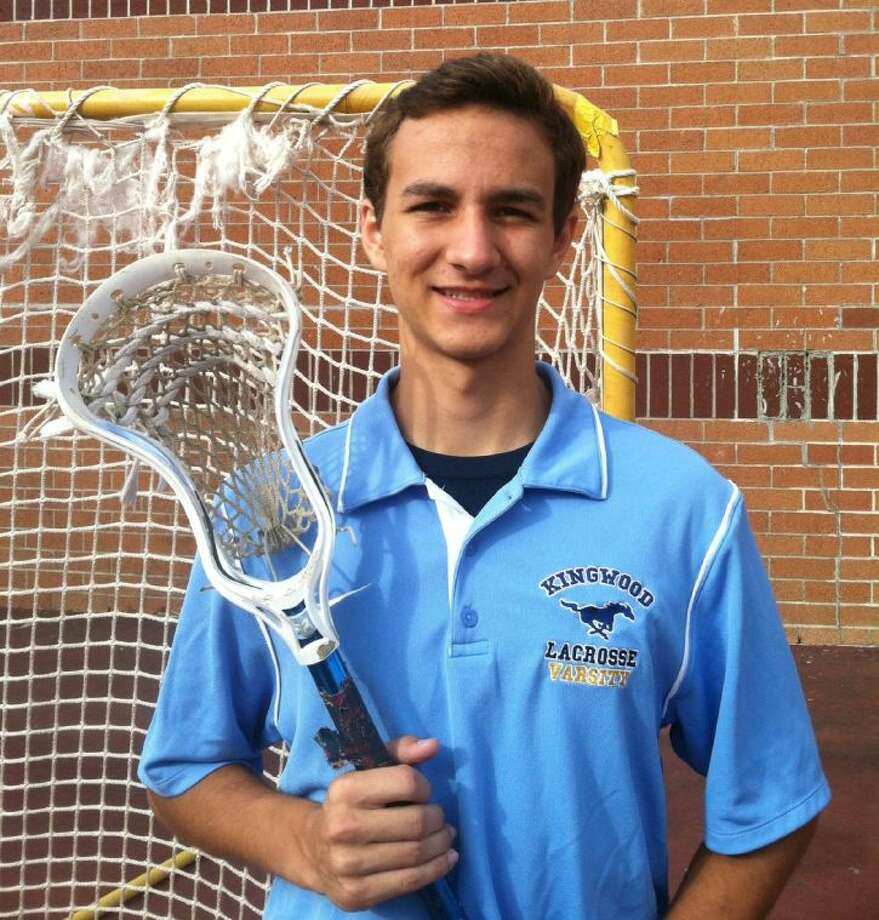 Sean Delamer, a senior at Kingwood High School, was recently selected to represent the West Region at the 2013 Brine National Lacrosse Classic to be held in Boyds, Maryland June 30-July 3, 2013. Photo: Submitted Photo