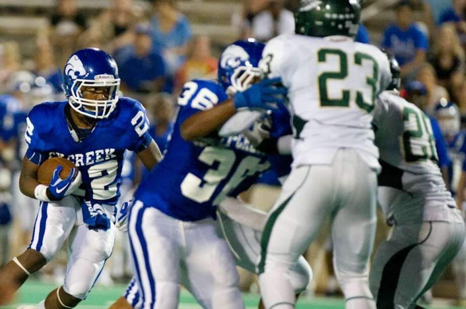 Detrich Hornsby and the Cy Creek Cougars are looking for a big win over Klein Oak on Friday. Photo: KJWESPHOTOS.com