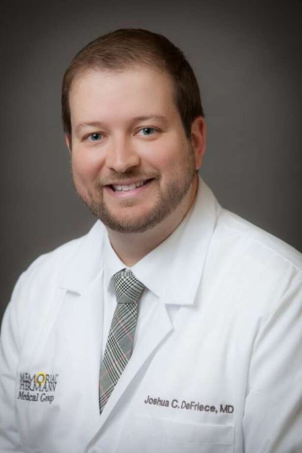 Joshua DeFriece, M.D. Photo: Submitted