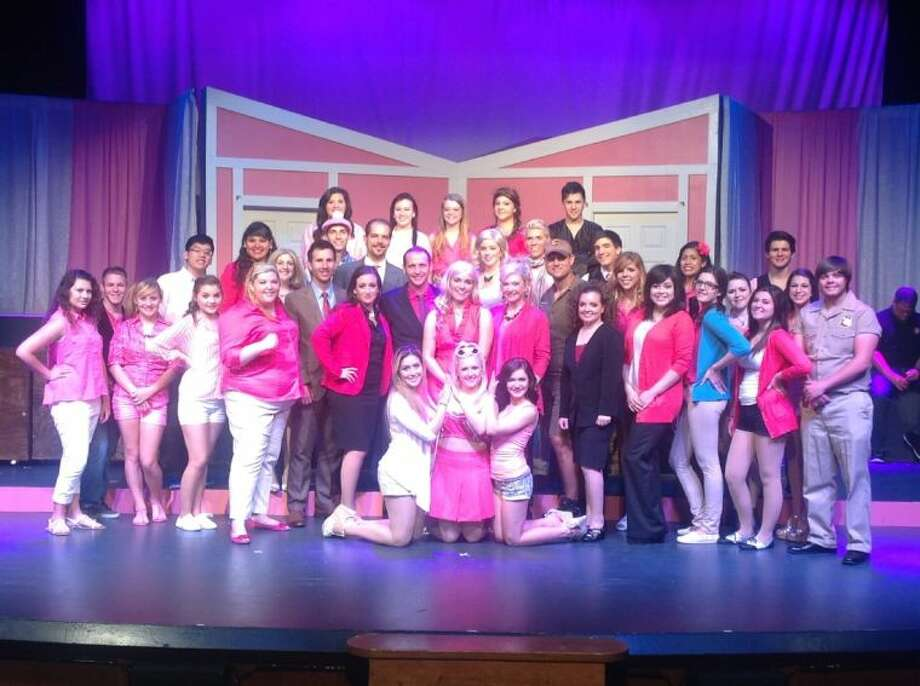 "The cast of Art Park's ""Legally Blonde: The Musical"" sing and dance their wayacross the stage, up the aisles and into your heart with laughter and romance.Make reservations (281-794-2448) to see this FEEL GOOD, high-energy show before July 20 or you'll haul yourself into court for missing it! Photo: SUBMITTED PHOTO"