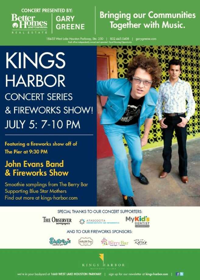 TONIGHT: Kings Harbor continues the celebration with fireworks July 5