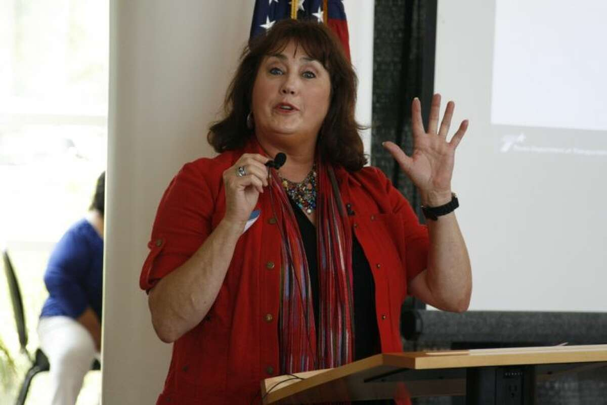 A representative from Zachry-Oderbrecht, Linda Merritt, gave a presentation and updates on the project at the Community Chamber of Commerce of East Montgomery County's July 3 monthly luncheon.