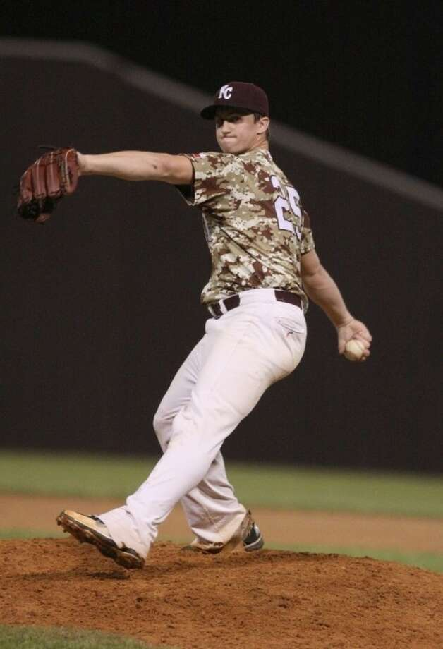 Kempner senior Dominic Taccolini earned a victory on the mound against Venezuela, helping the USA 18U national team win the IBAF world championship. Photo: Alan Warren