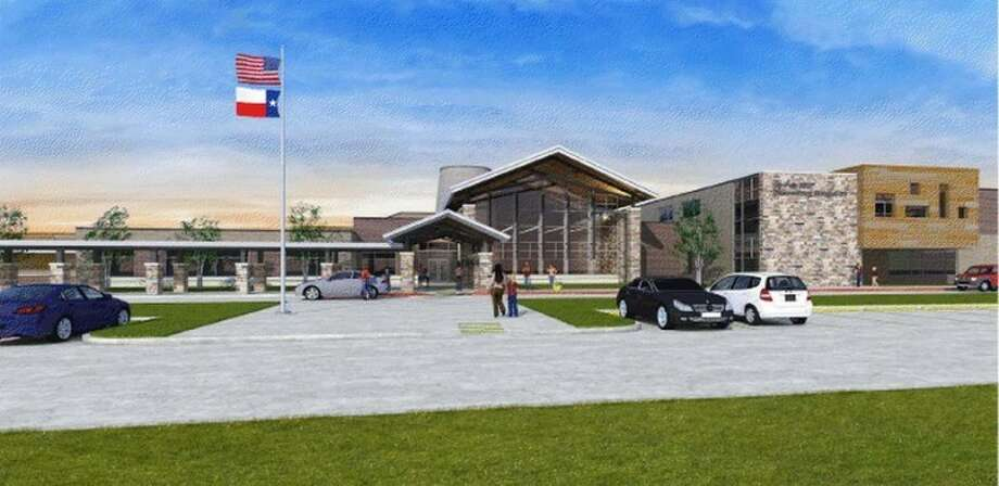 The district unveiled the final design of Elementary No. 53, which will be built in Bridgeland. Photo: From CFISD