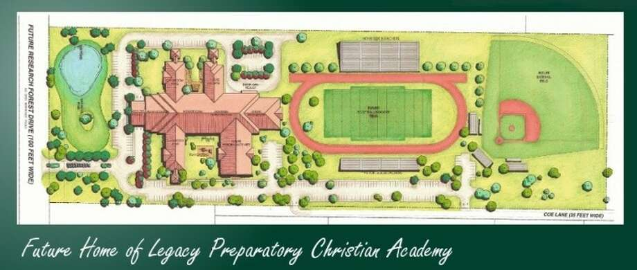 Legacy Preparatory Christian Academy plans to build its first facility on land off of COE Lane between FM 1488 in Magnolia and Research Forest Boulevard in The Woodlands. The facility is projected to house upwards of 500 students. The school is moving into the second phase of a capital campaign to fund the facility.