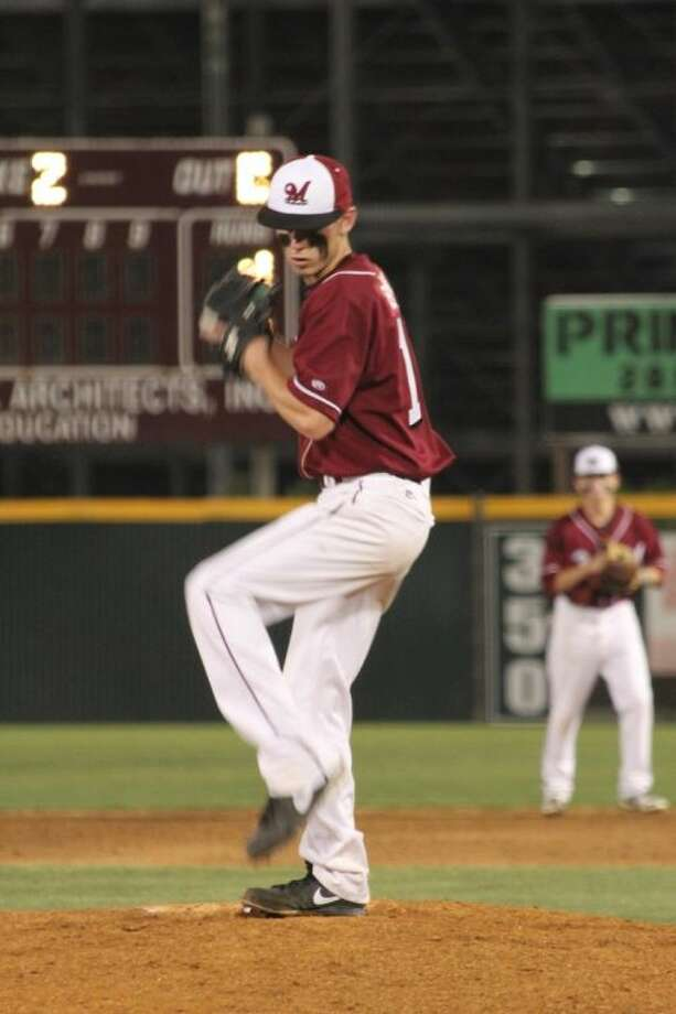 Magnolia's Kyle Black tossed a complete-game, three-hitter to beat Magnolia West Photo: Magnolia HS