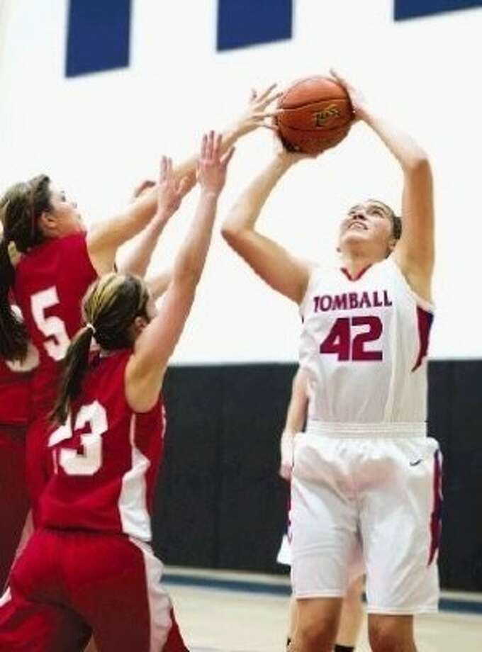 Tomball's Carissa Diaz helped lead the Lady Cougars to the Region III-4A finals for the first time in nearly 20 years. Photo: HCN File Photo
