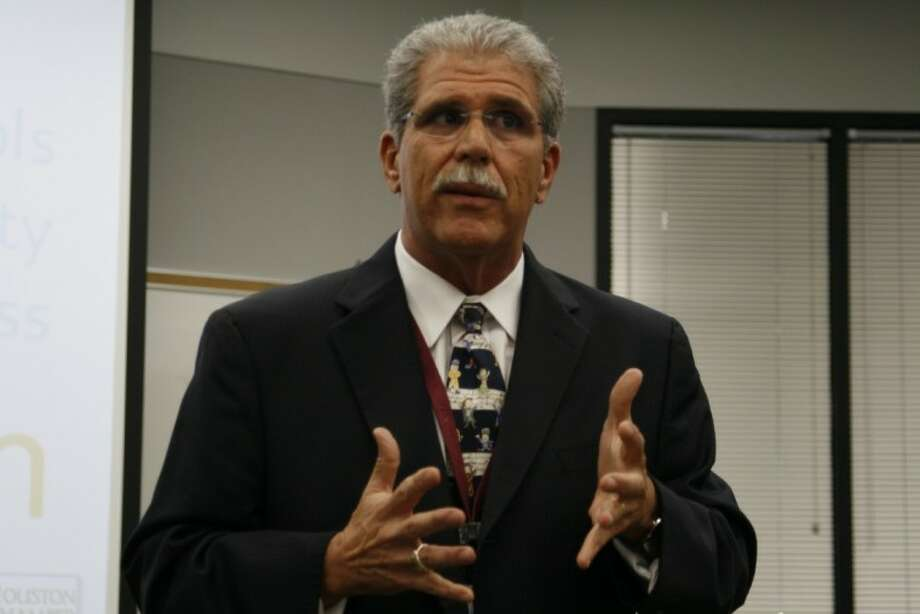 Humble ISD superintendent Dr. Guy Sconzo shared a district update at the Kingwood BizCom Sept. 6.